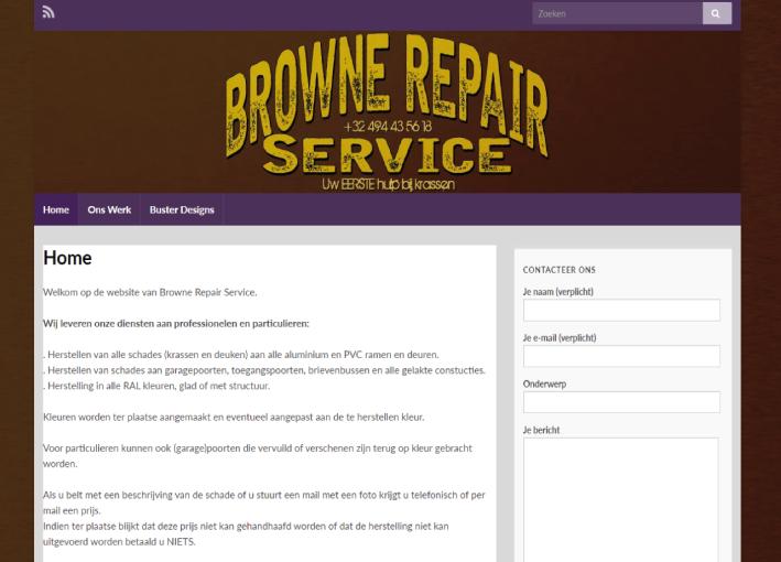 Browne Repair Service