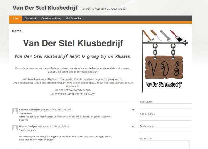 Van Der Stel Klusbedrijf